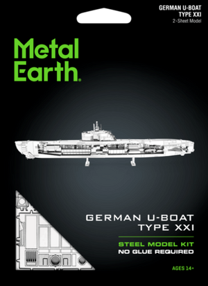 METAL EARTH GERMAN U BOAT