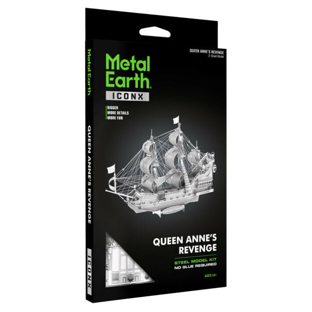 METAL EARTH QUEEN ANNES REVENGE