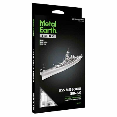 METAL EARTH ICONX USS THEODORE ROOSEVELT