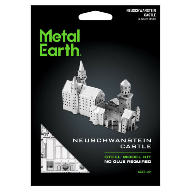 METAL EARTH NEUSCHWANSTEIN CASTLE