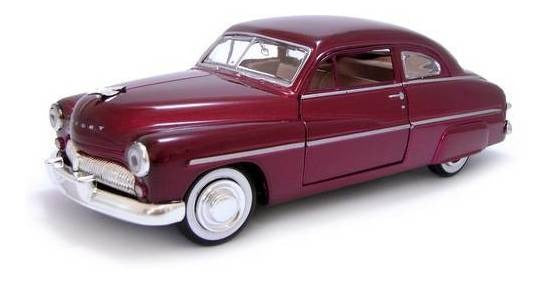 AMERICAN CLASSICS 1949 MERCURY COUPE 1:24TH