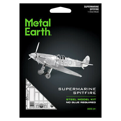 METAL EARTH SUPERMARINE SPITFIRE