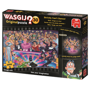 HOL771615 WASGIJ ORIGINAL 30 STRICKLY CANT DANCE 1000 PIECE