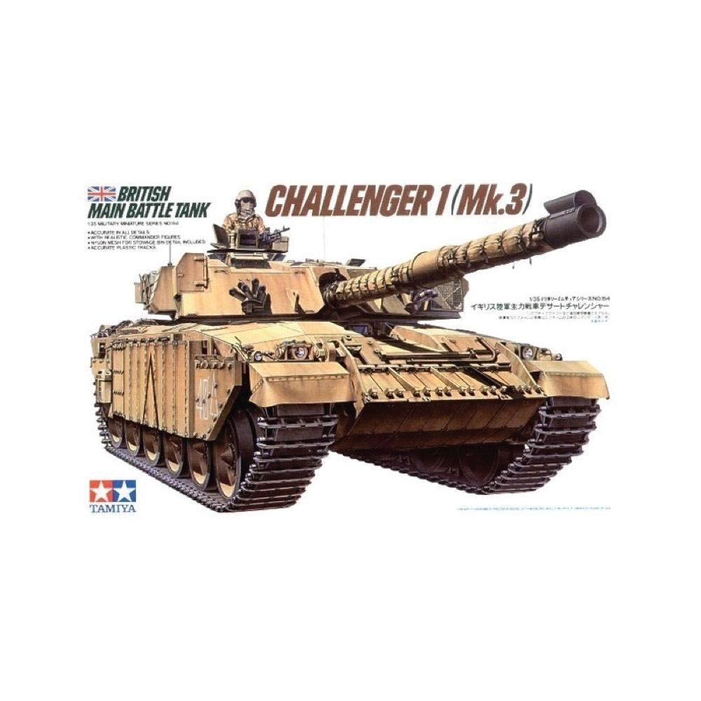 BRITISH MAIN BATTLE TANK CHALLENGER 1/35