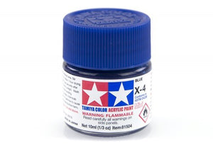 X4 GLOSS BLUE 10ML