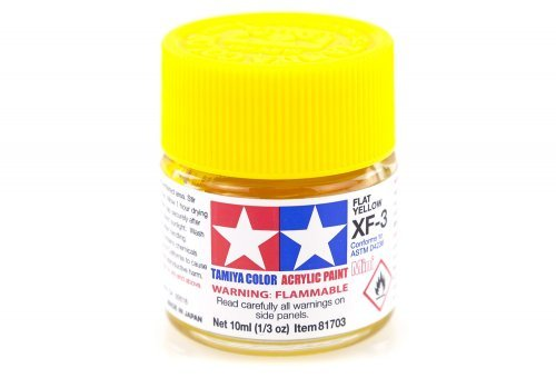 XF3 FLAT YELLOW 10ML