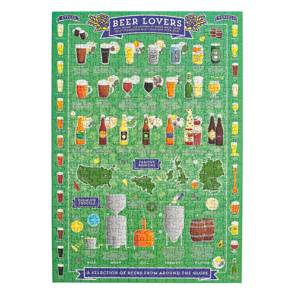 BEER LOVERS 500 PIECE