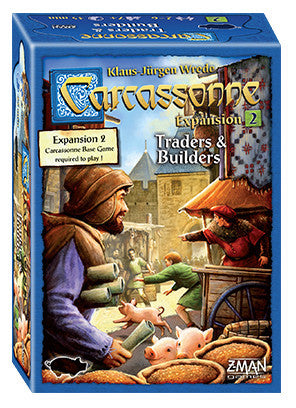 CARCASSONNE TRADERS AND BUILDERS