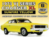 18722 1973 VJ SERIES CHARGER XL SUNFIRE YELLOW 1:18TH