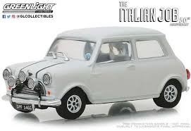 ITALIAN JOB 1967 AUSTIN MINI WHITE 1:43RD