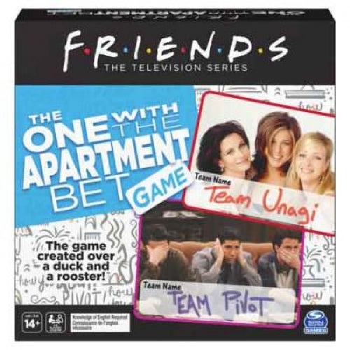FRIENDS LOSING THE APARTMENT