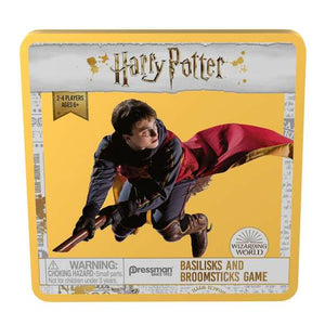 HARRY POTTER BASLISKS AND BROOMSTICKS GAME