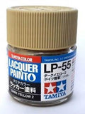 LP55 LACQUER DARK YELLOW 10ML