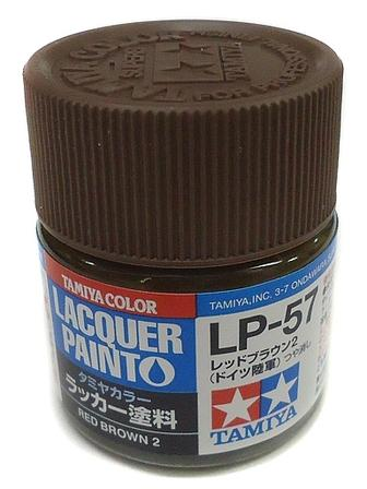 LP57 LACQUER RED BROWN 2 10ML