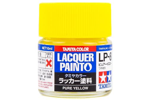 LP8 LACQUER PURE YELLOW 10ML