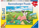 BABY FARM ANIMALS 2 X 12 PIECE