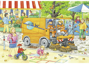 RB07617-8 STREET CLEANING 2X12 PIECE