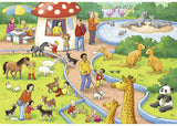 RB07813-4 A DAY A THE ZOO 2X24 PIECE