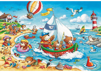 RB07829-5 SEASIDE HOLIDAY 2X24 PIECE