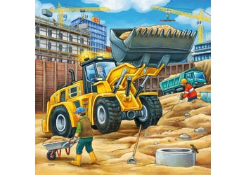 RB09226-0  CONSTRUCTION VEHICLE 3 X 49