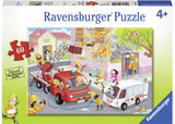 RB09641-1 FIREFIGHTER RESCUE 60 PIECE