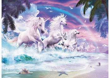 UNICORNS ON THE BEACH 150XL PIECE
