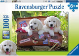 RB10538-0 TRAVELLING PUPPIES 100 PIECE