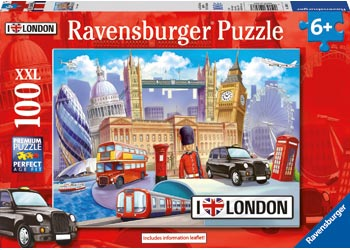 RB10607-3 I LOVE LONDON 100 PIECE