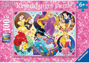 RB10796-4 DISNEY PRINCESS 2 100 PIECE