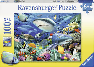 RB10951-7 REEF OF THE SHARKS 100 PIECE