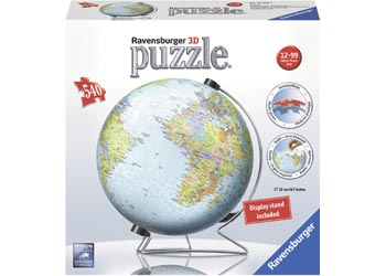 WORLD GLOBE PUZZLE 3D PUZZLEBALL