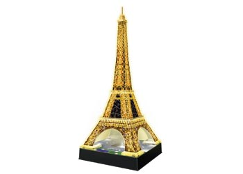 EIFFEL TOWER AT NIGHT 3D PUZZLE