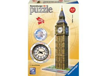 BIG BEN WITH  CLOCK 3D PUZZLE