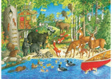 RB12740-5 WOODLAND FRIENDS 200 PIECE
