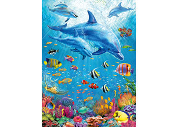 RB12889-1 POD OF DOLPHINS 100 PIECE