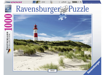 LIGHTHOUSE IN SYLT 1000 PIECE