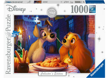 DISNEY MOMENTS 1955 LADY AND TRAMP 1000 PIECE