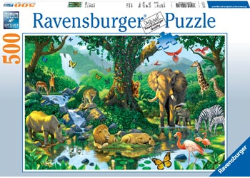 HARMONY IN THE JUNGLE 500 PIECE