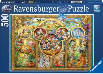 DISNEY FAMILY PUZZLE 500 PIECE