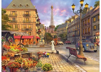 A WALK THROUGH PARIS  500 PIECE