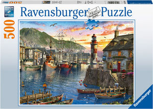 RB15045-8 SUNRISE AND THE PORT 500 PIECE