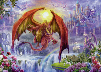 DRAGON KINGDOM 1000 PIECE