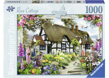 ROSE  COUNTRY COTTAGE 1000 PIECE