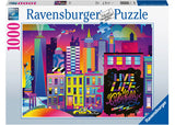 LIVE LIFE COLOURFUL NYC 1000 PIECE