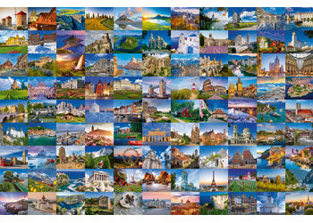 99 BEAUTIFUL PLACES OF EUROPE 3000 PIECE