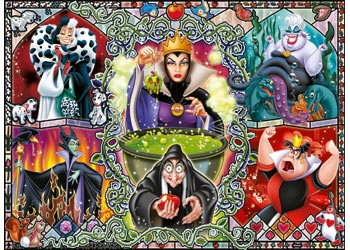 DISNEY WICKED WOMEN 1000 PIECE