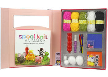 SPICEBOX SPOOL KNIT ANIMALS