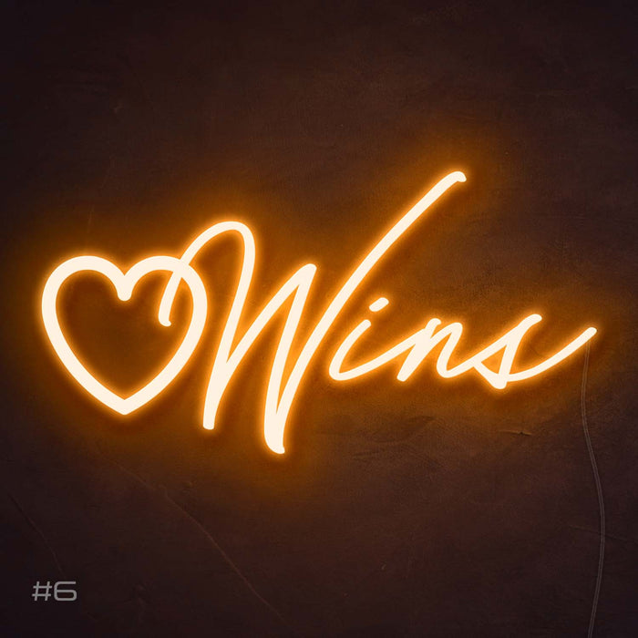 Love Wins Neon Sign