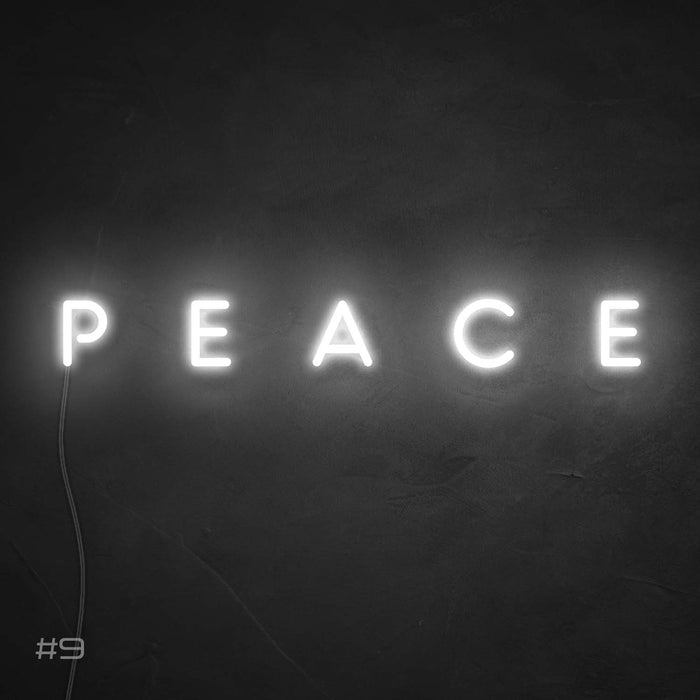 Peace Neon Sign
