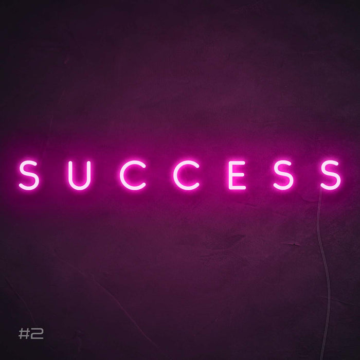 Success Neon Sign